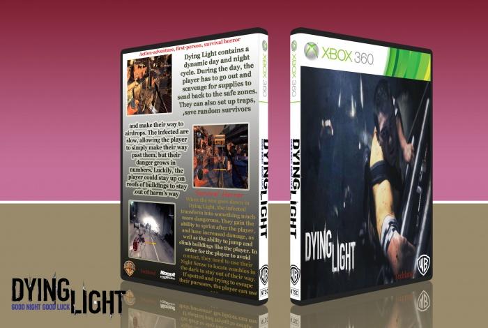 Dying Light Box Art Cover