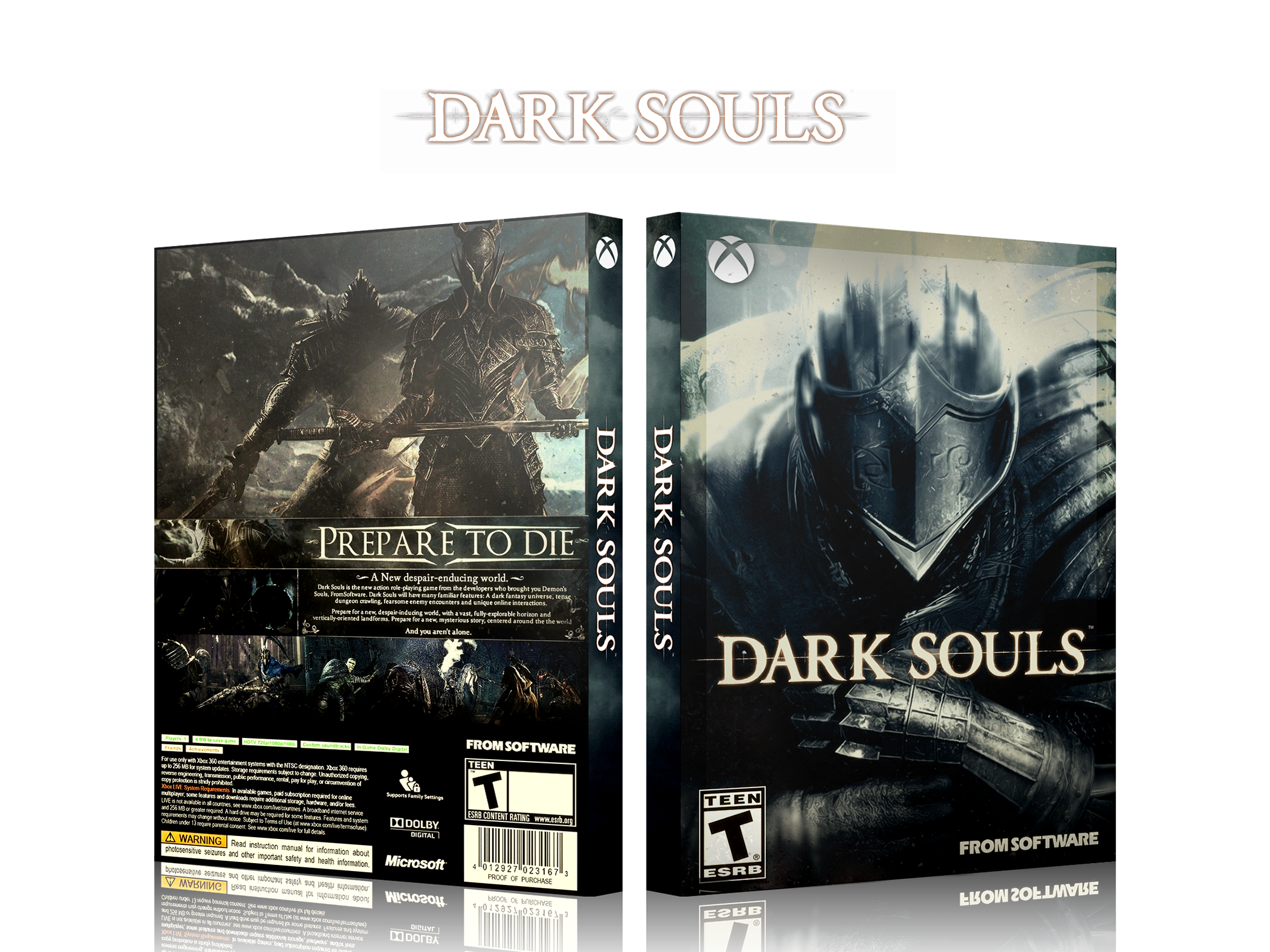 Dark Souls box cover