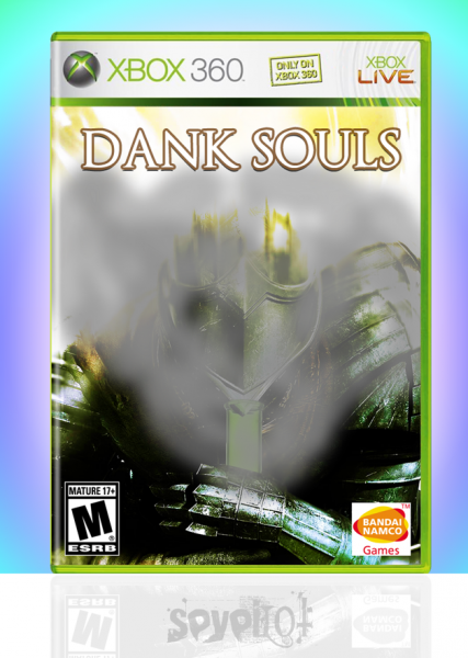 DANK SOULS box cover