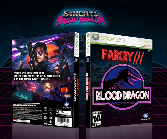 Farcry 3 Blood Dragon box art cover