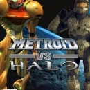 Metroid vs Halo Box Art Cover