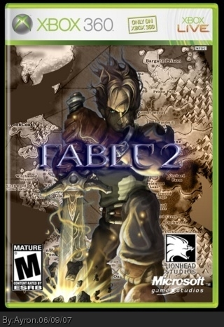 Fable 2 box cover