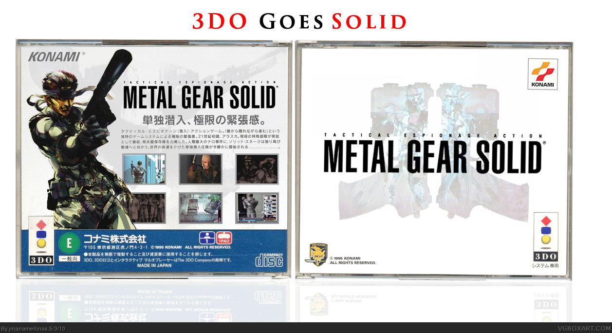 Metal Gear Solid box cover