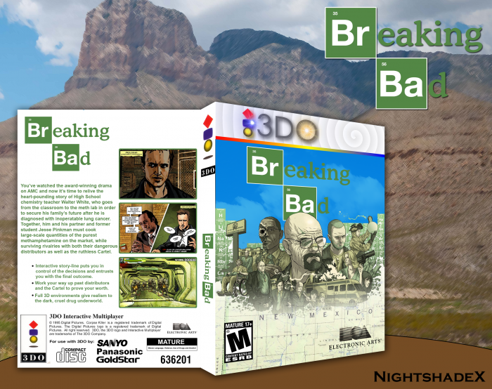 Breaking Bad box art cover
