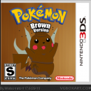 Pokémon Brown Version Box Art Cover