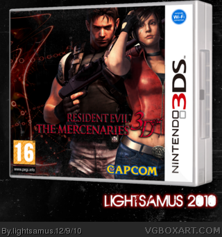 Nintendo 3DS » Resident Evil: The Mercenaries 3D Box Cover ← →