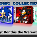 Sonic Collection (3DS) Box Art Cover