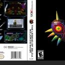 The Legend of Zelda Majora's Mask Box Art Cover