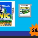 sonic the hedgehog 3D (working tittle) 3DS Box Art Cover
