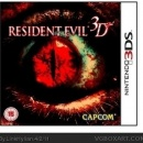 Resident Evil 3D Box Art Cover