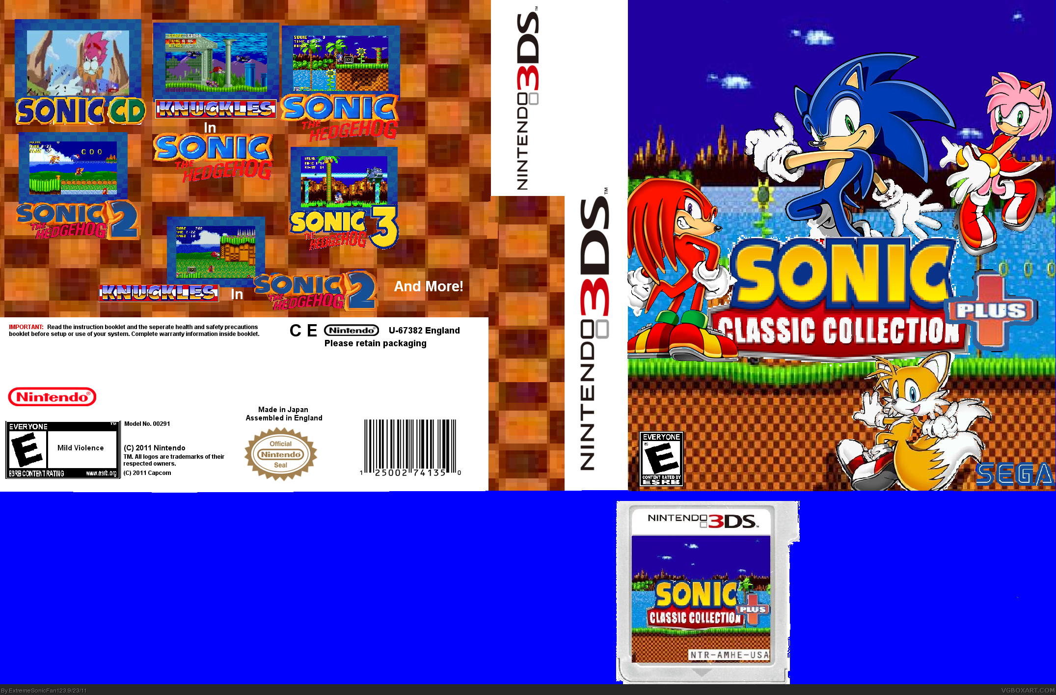 Sonic Classic Collection Plus box cover