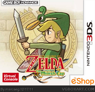 Nintendo 3DS » The Legend of Zelda: The Minish Cap Box Cover ? ?