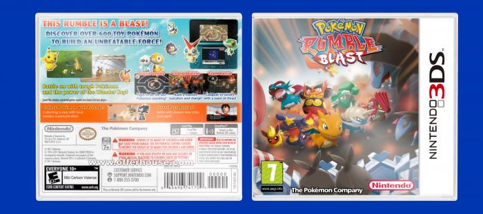 Nintendo 3DS » Pokemon Rumble Blast Box Cover