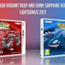 Pokémon Radiant Ruby & Shiny Sapphire Box Art Cover