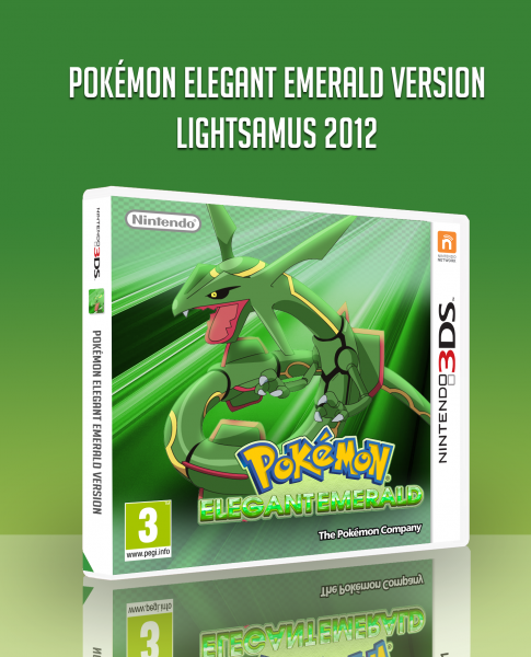 Pokémon Elegant Emerald box art cover