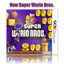 New Super Wario Bros. Box Art Cover