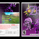 The Legend of Zelda Majoras Mask 3D Box Art Cover