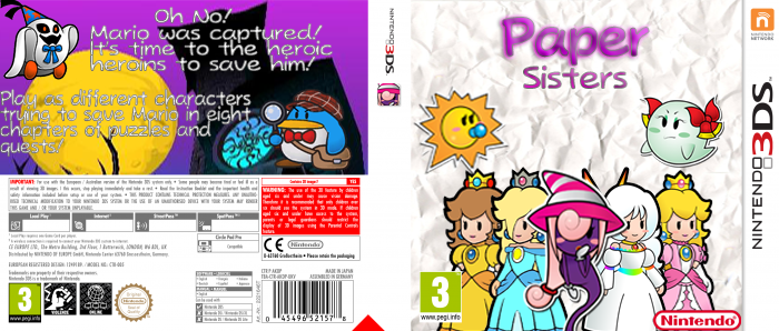 Paper Sisters box cover