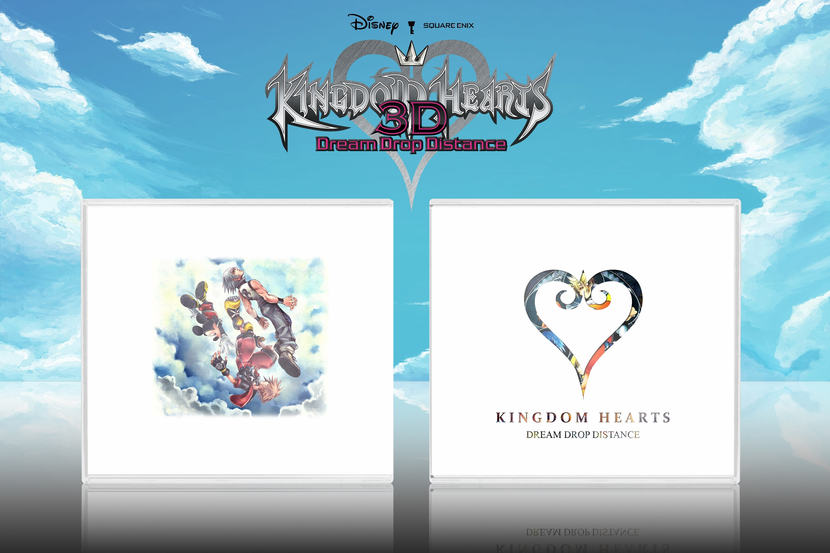 Kingdom Hearts Dream Drop Distance box cover
