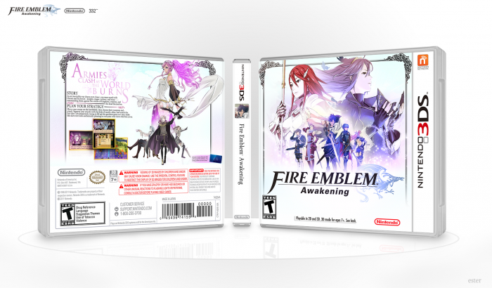 Fire Emblem: Awakening box art cover