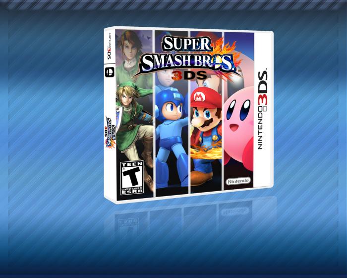 Super Smash Bros 3ds Box Art
