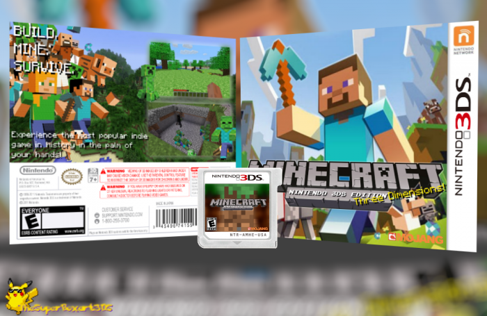 Minecraft for 3ds - 6d