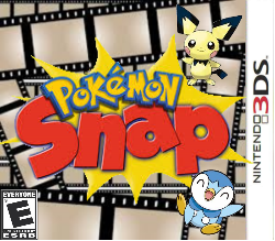 Pokemon Snap 3DS box cover