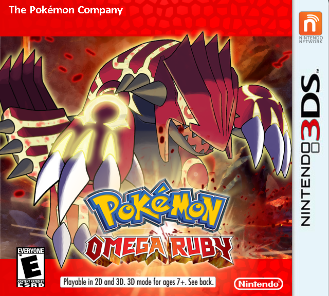 Pokemon Rubis Omega 3DS
