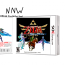 Legend Of Zelda - Skyword Sword 2 Box Art Cover