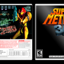 Super Metroid 3D Box Art Cover