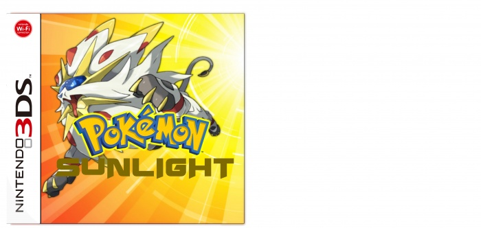 Pokemon Sunlight box art cover