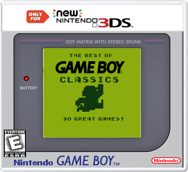 The Best Of Game Boy Classics box cover