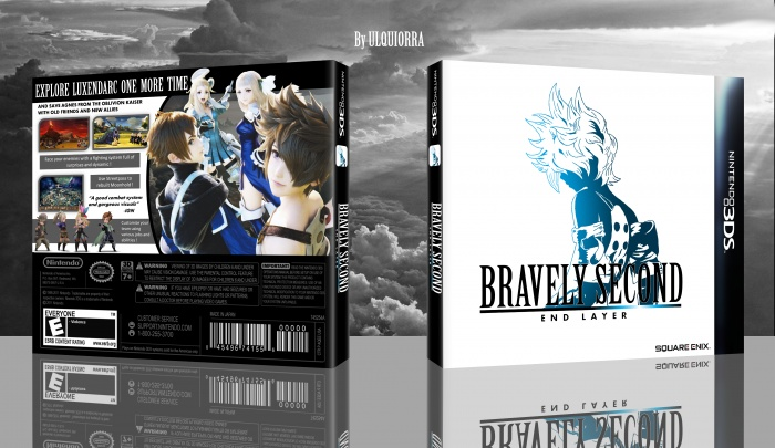 Bravely Second: End Layer box art cover