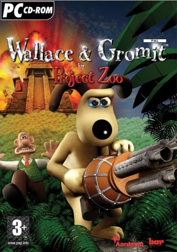 Wallace & Gromit In Project Zoo HD box cover