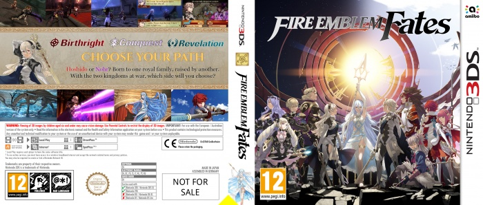 Fire Emblem Fates box art cover