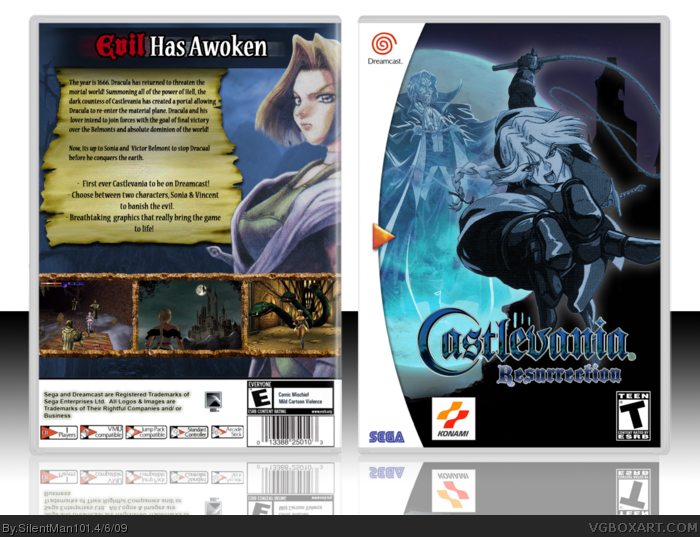 Castlevania: Resurrection box art cover