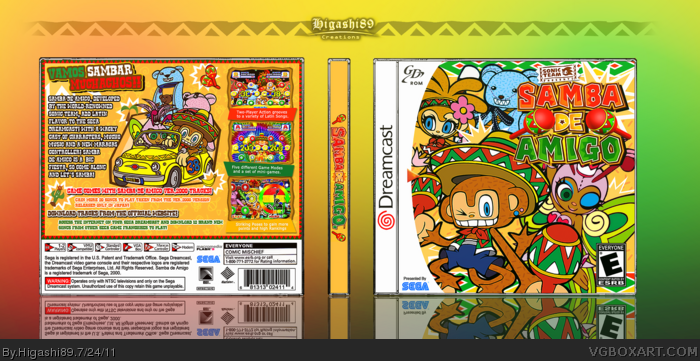 Samba de Amigo box art cover
