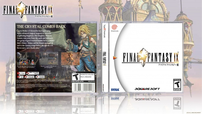 Final Fantasy IX Dreamcast box art cover