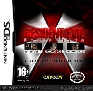 Resident Evil Collection: DS box cover