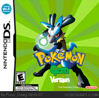 Pokemon Gem Version box cover