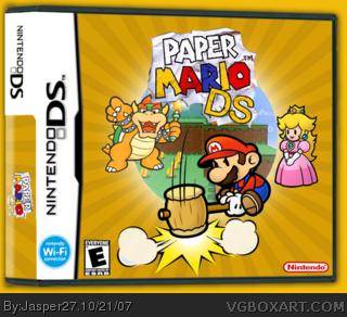 Paper Mario box art cover