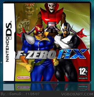Nintendo DS » F-Zero AX Box Cover