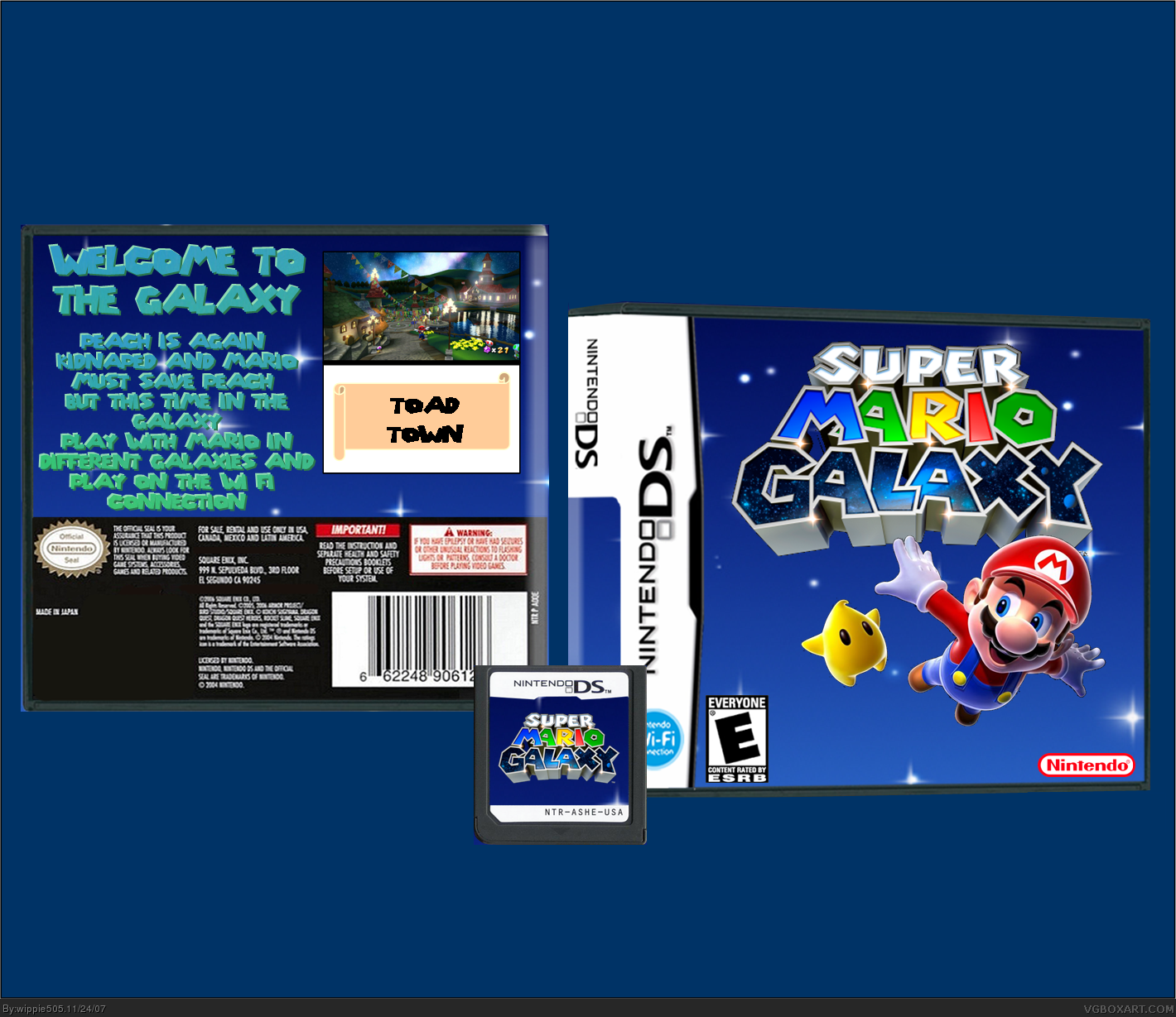 Super Mario Galaxy box cover