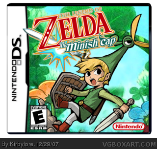 how to play zelda minish cap on 3ds