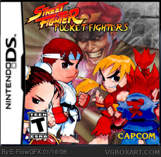 Street Fighter: Pocket Fighters box cover
