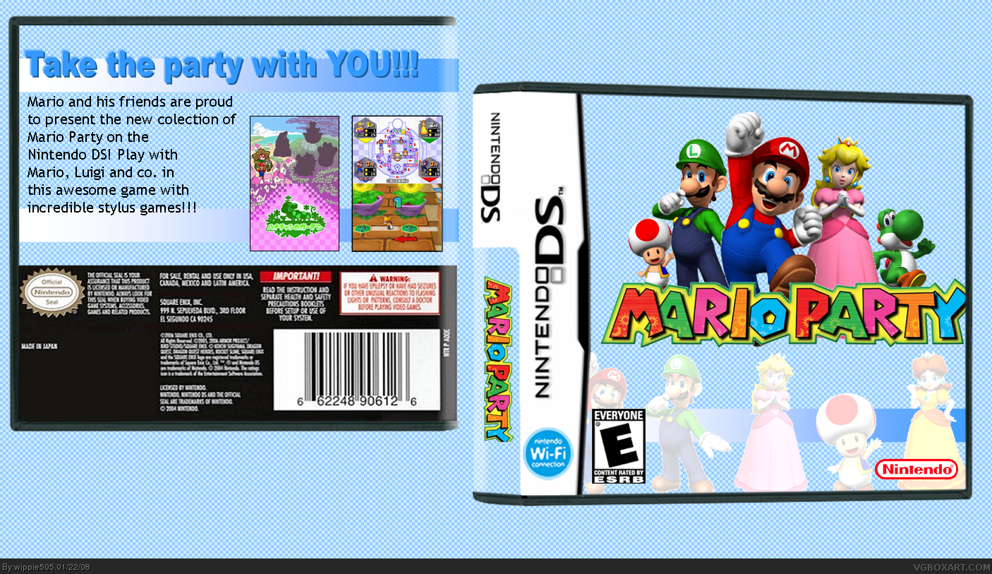 Mario Party Collection box cover