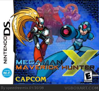 Megaman X Nintendo Ds Box Art Cover By Speedreemix