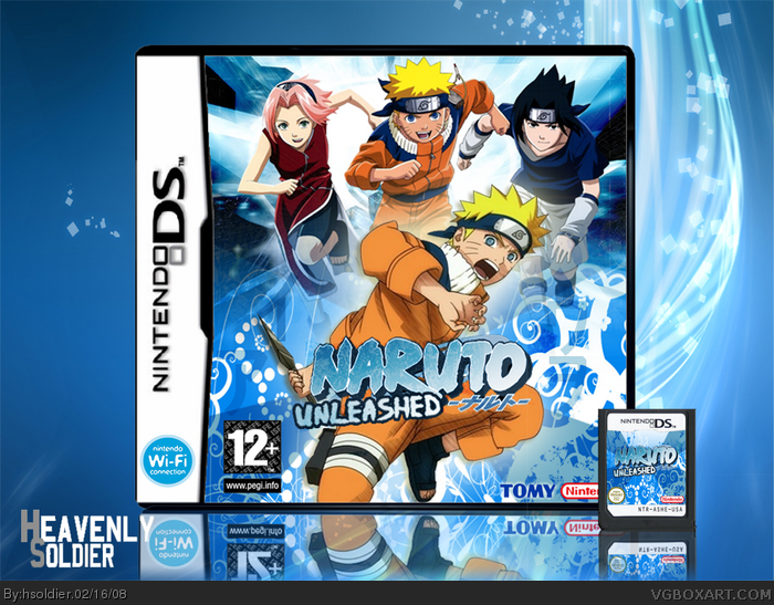 Naruto Unleashed box art cover