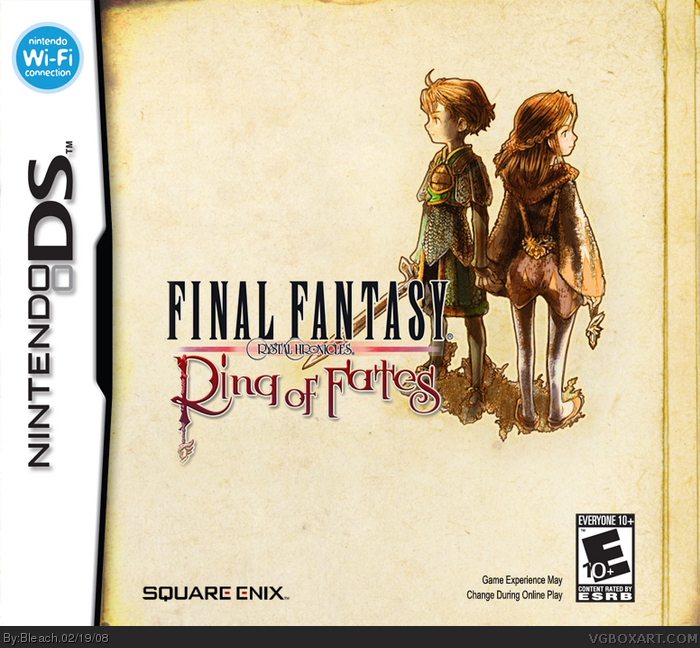 Nintendo DS » Final Fantasy Crystal Chronicles: Ring of Fates Box