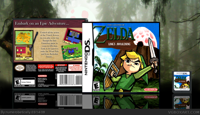 Nintendo DS » The Legend of Zelda: Link's Awakening Box Cover ? ?